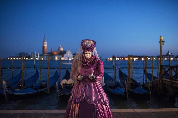 Carnival Wall Art - Photograph - Venice Carnival '15 V by Yuri San