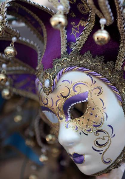 Photograph - Venice Carnival Mask by Paul Cowan