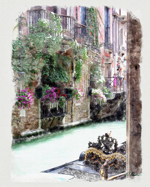 Painting - Venice by Charlie Roman