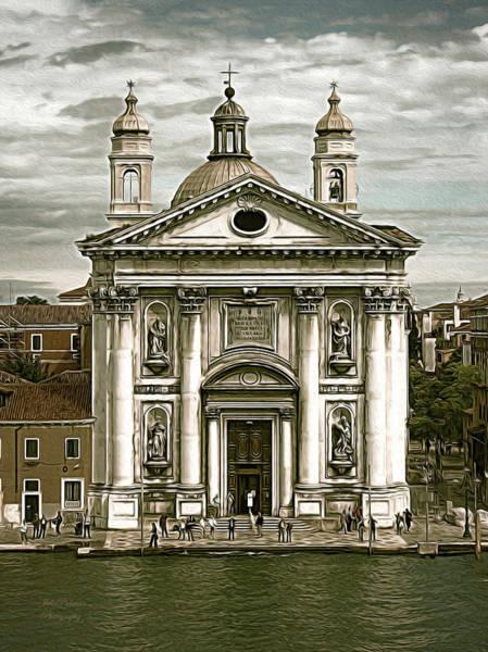 Digital Art - Venice City Of Churches by Julie Palencia