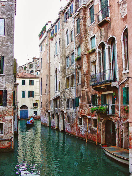 Photograph - Venice City Of Water 2 by Julie Palencia