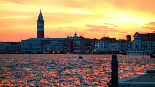 Tramonto Photograph - Venice Colors by Valentino Visentini
