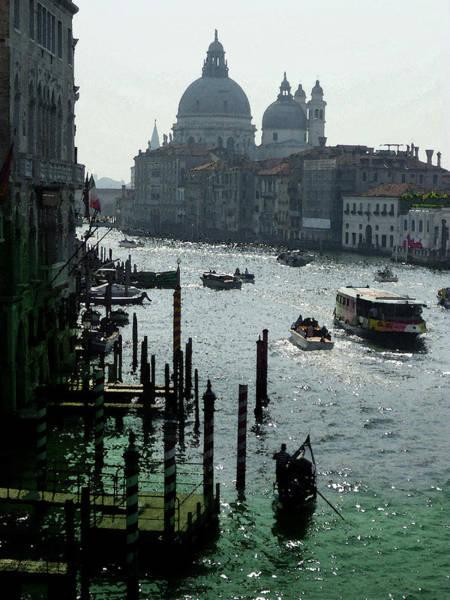 Wall Art - Photograph - Venice Grand Canale Italy Summer by Irina Sztukowski