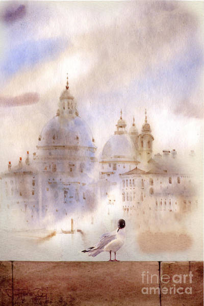 Wall Art - Painting - Venice II by Svetlana and Sabir Gadghievs