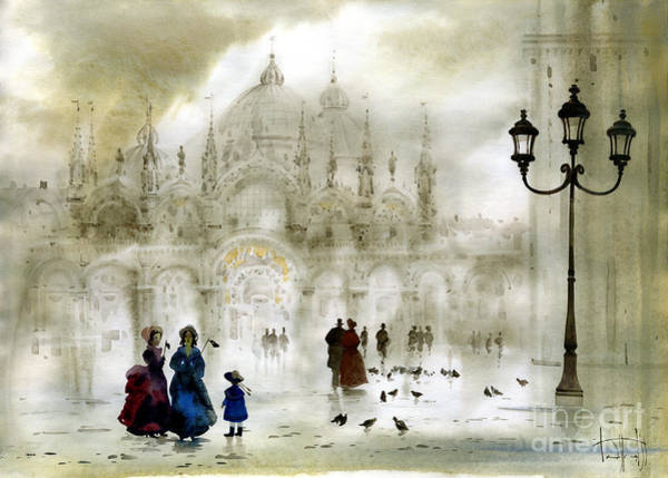 Venice IIi Art Print by Svetlana and Sabir Gadghievs
