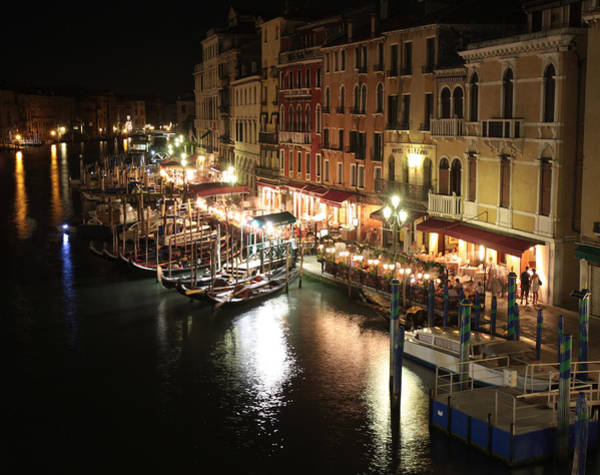 Photograph - Venice Italy At Night by Nathan Rupert