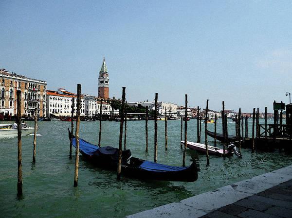 Photograph - Venice Italy Gondola View On Doge Palace by Irina Sztukowski