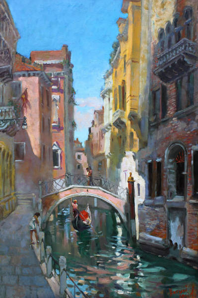 In Wall Art - Painting - Venice Italy by Ylli Haruni