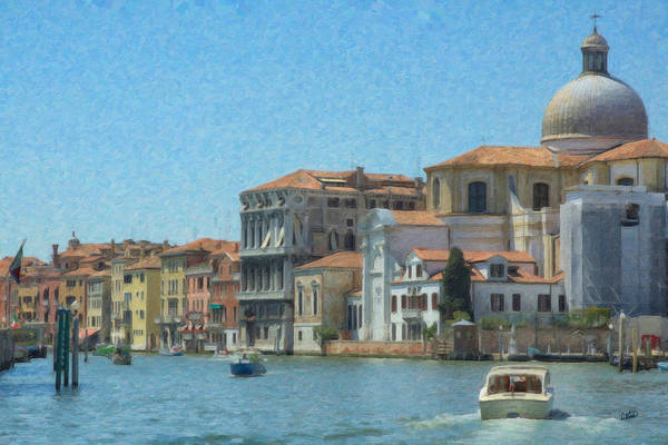 Painting - Venice Itl1027 by Dean Wittle