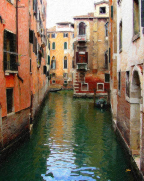 Painting - Venice Itl1747 by Dean Wittle