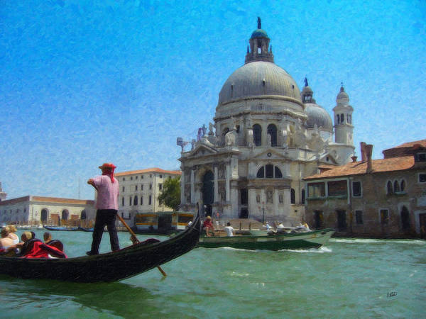 Painting - Venice Itl1848 by Dean Wittle