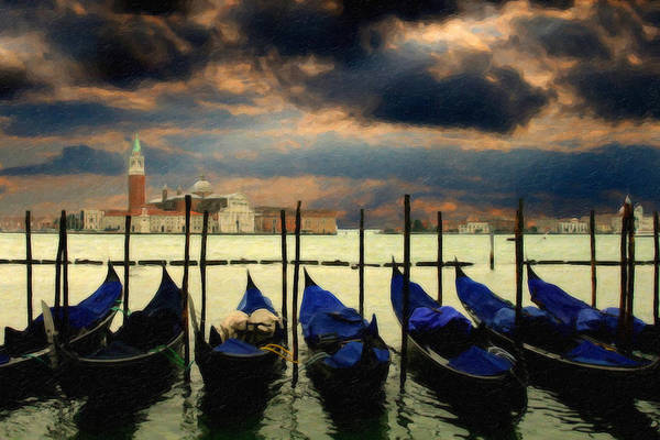 Painting - Venice Itl1948 by Dean Wittle