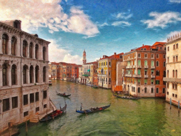 Painting - Venice Itl2983 by Dean Wittle