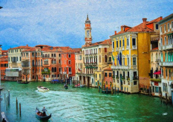 Painting - Venice Itl3414 by Dean Wittle