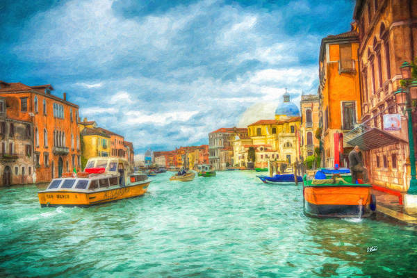 Painting - Venice Itl3415 by Dean Wittle