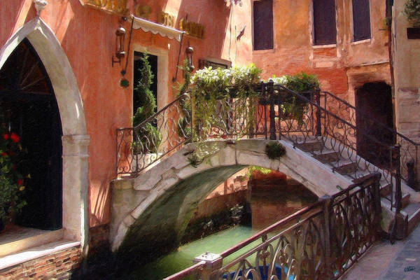 Painting - Venice Itl4119 by Dean Wittle