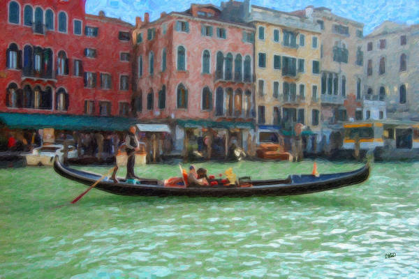 Painting - Venice Itl4723 by Dean Wittle