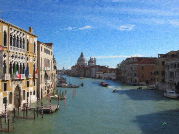 Painting - Venice Itl7535 by Dean Wittle