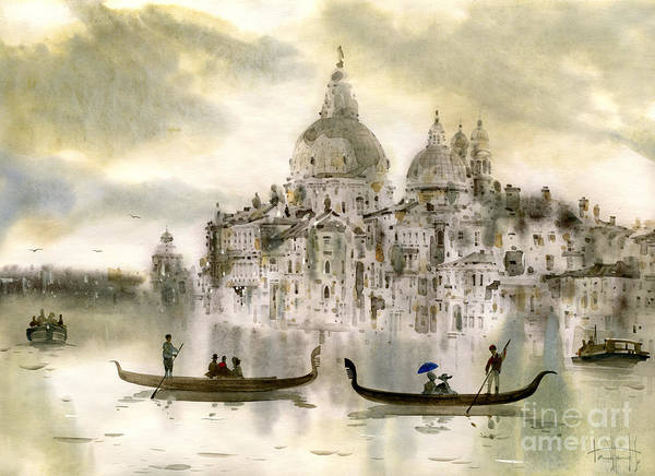 Wall Art - Painting - Venice Iv by Svetlana and Sabir Gadghievs