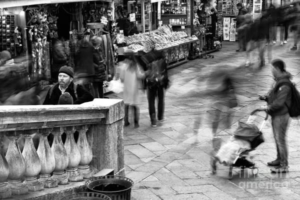 Wall Art - Photograph - Venice Motion I by John Rizzuto