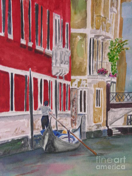 Painting - Venice by Peggy Dickerson