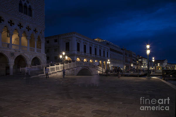 Photograph - Venice Plaza by Timothy Johnson