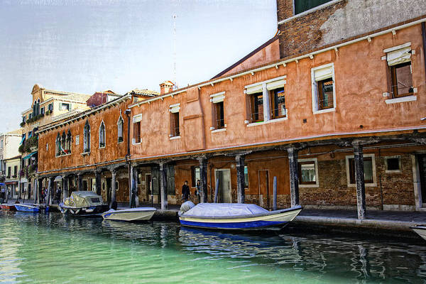 Wall Art - Photograph - Venice Reflections - Italy by Madeline Ellis