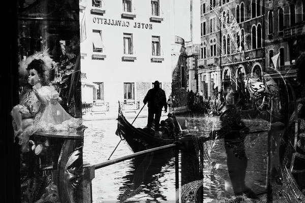 Doll Wall Art - Photograph - Venice Reflections by Sa?a Kru?nik