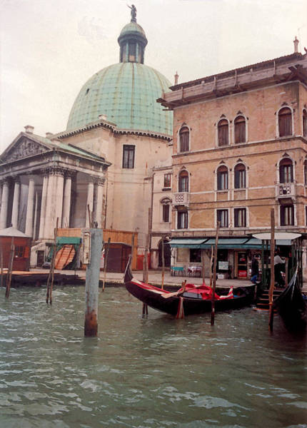 Wall Art - Photograph - Venice Series - A Trip To Remember In Watercolor V by Suzanne Gaff