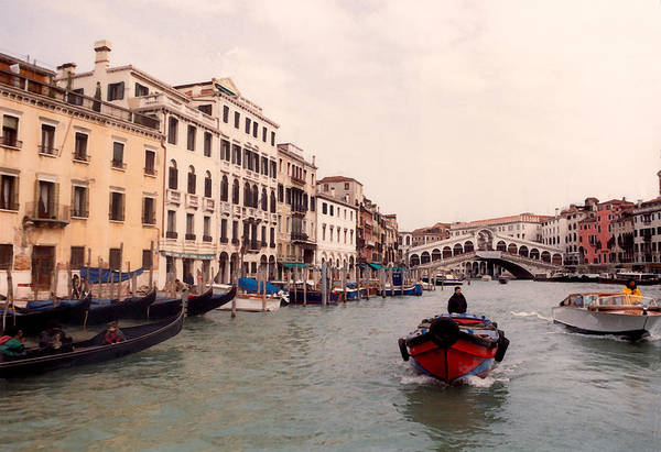 Wall Art - Photograph - Venice Series - A Trip To Remember Iv by Suzanne Gaff
