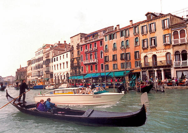 Wall Art - Photograph - Venice Series - A Trip To Remember II by Suzanne Gaff