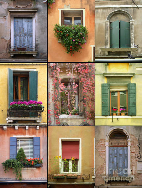 Photograph - Venice Shutters by Robyn Saunders