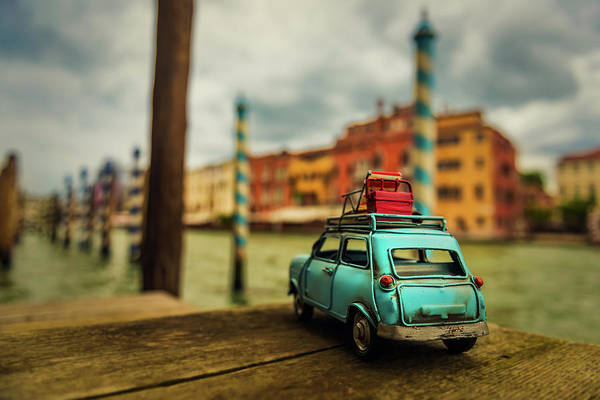 Classic Car Photograph - Venice Stopped by Luis Francisco Partida