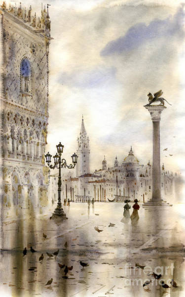 Wall Art - Painting - Venice by Svetlana and Sabir Gadghievs