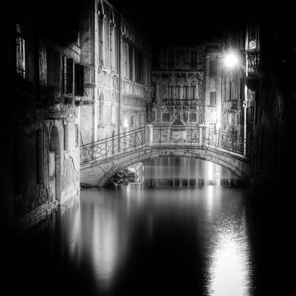 Bridge Photograph - Venice by Tanja Ghirardini