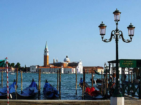Photograph - Venice View On Basilica Di San Giorgio Maggiore by Irina Sztukowski