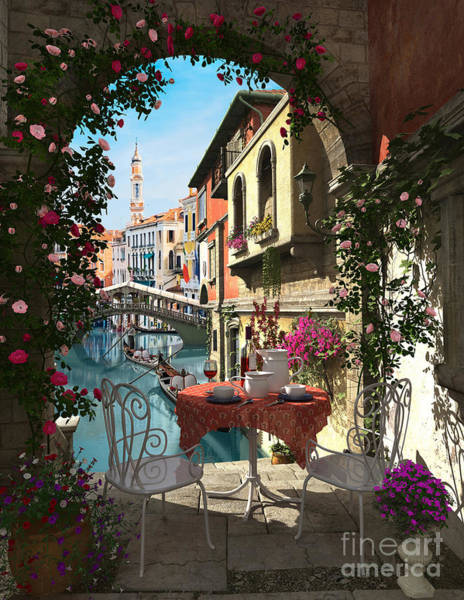 Relaxation Digital Art - venice Vue by MGL Meiklejohn Graphics Licensing