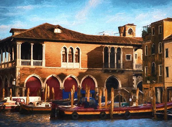 Photograph - Venice Warehouse by Mick Burkey