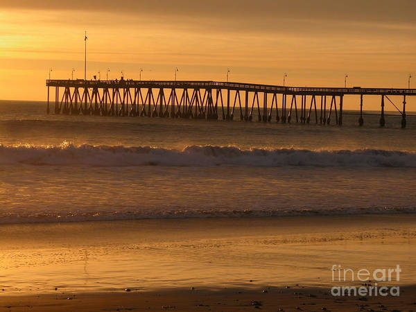 Photograph - Ventura Pier by Kathleen Gauthier