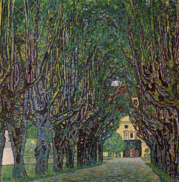 Painting - venue of Schloss Kammer Park by Celestial Images