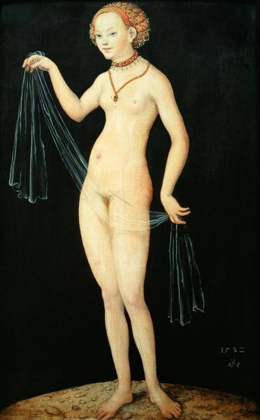 The Elder Painting - Venus by Lucas the Elder Cranach