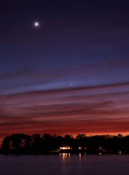 Photograph - Venus And Mercury by Charles Hite