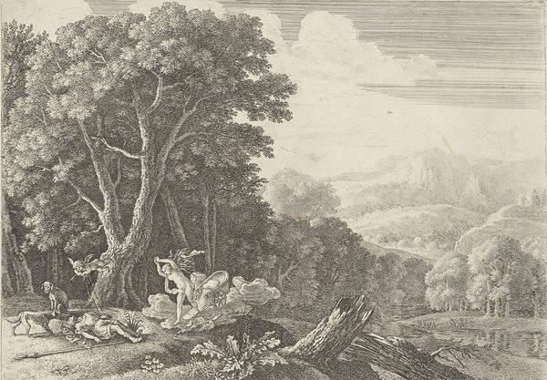 Venus Mourns The Death Of Adonis, Herman Van Swanevelt Art Print