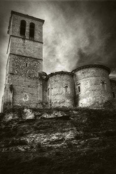 Knights Templar Photograph - Vera Cruz Segovia by Joan Carroll