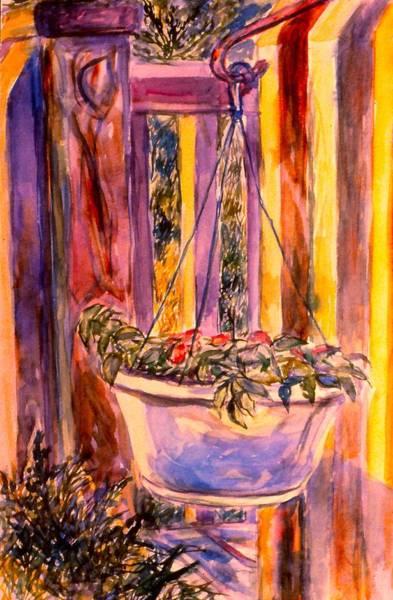 Painting - Veranda Still Life by Kendall Kessler