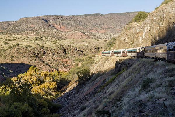 Photograph - Verde Canyon Railway Landscape 2 by Jim Moss