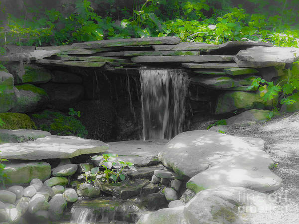 Digital Art - Verde Falls by Kathryn Strick