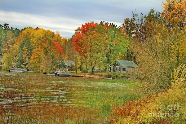 Photograph - Vermont Autumn Dream Place by Deborah Benoit