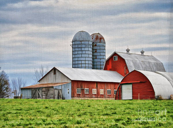 Photograph - Vermont Barn In Oil by Deborah Benoit