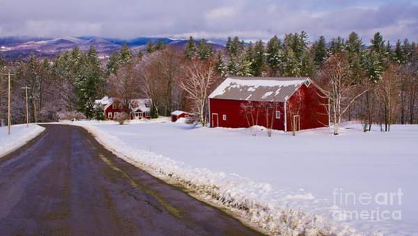 Waitsfield Photograph - Vermont Farm. by New England Photography